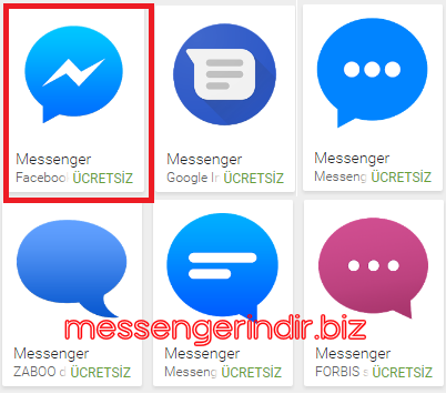 messenger-google-play-amblemi